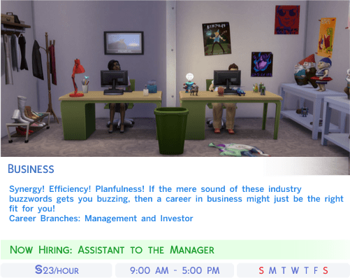 Sims 4 Career Top 3 Charts – The Sims Legacy Challenge