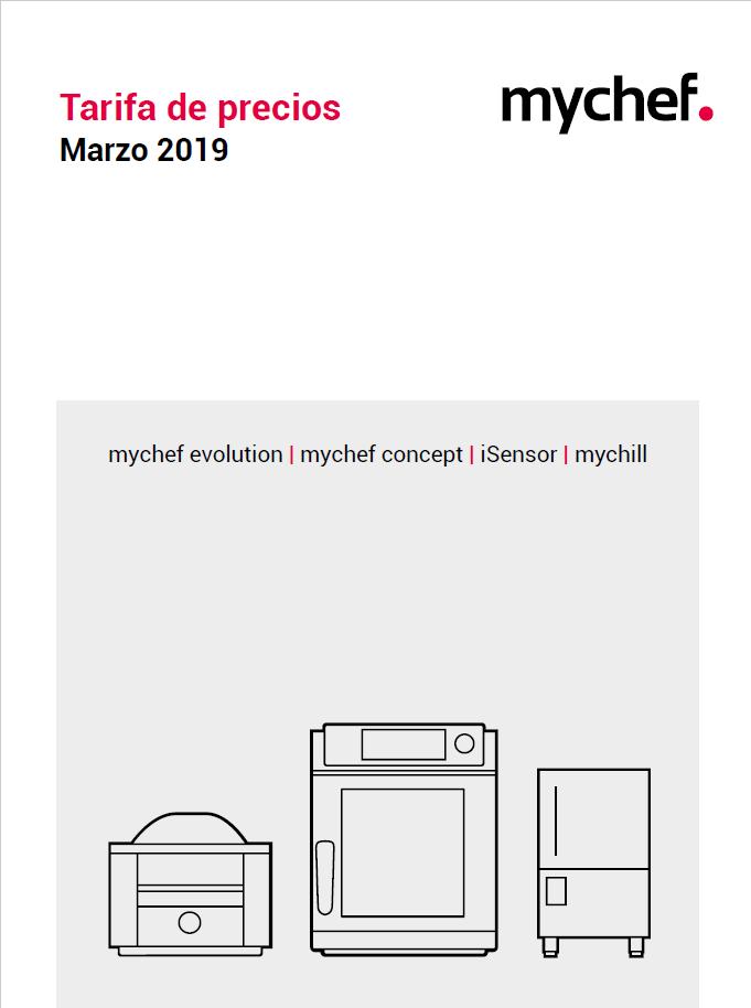 Tarifa mychef 2019 2020