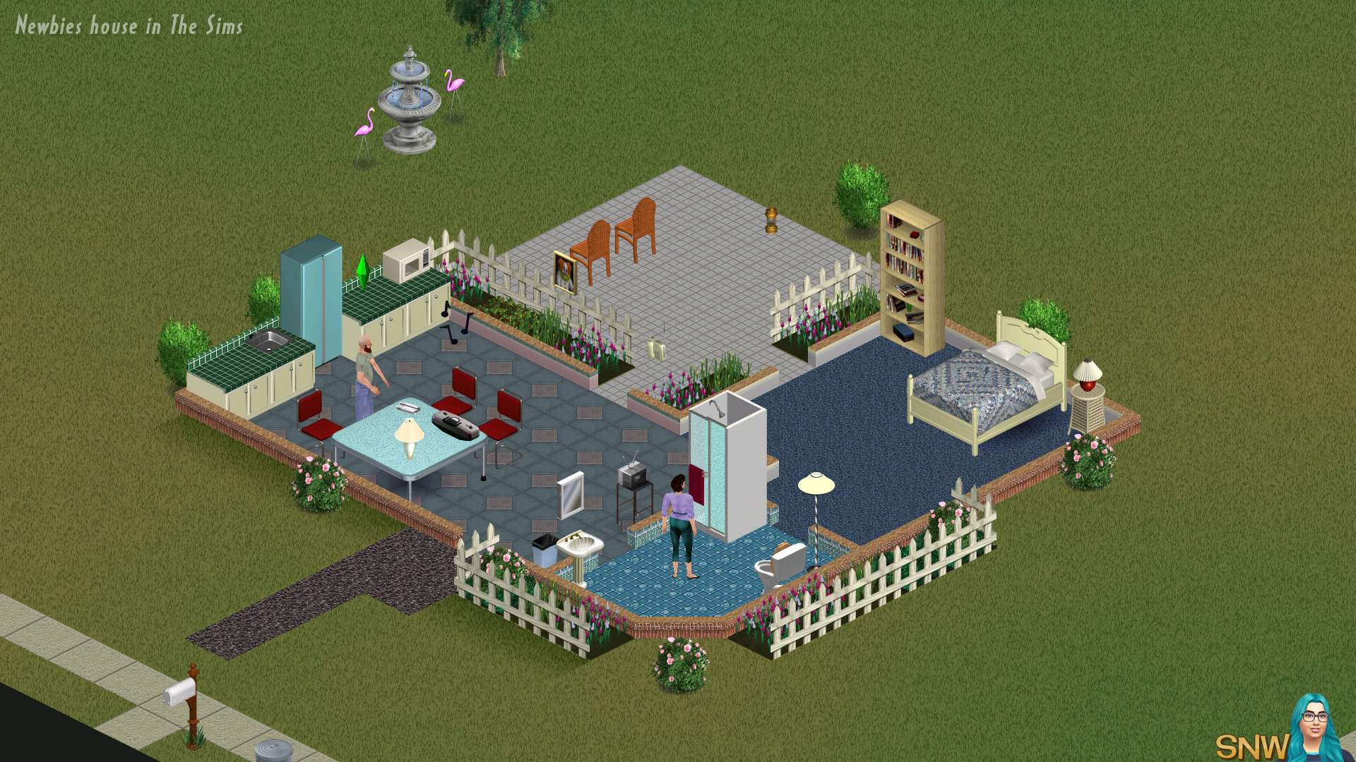 Newbies House  SNW  SimsNetworkcom
