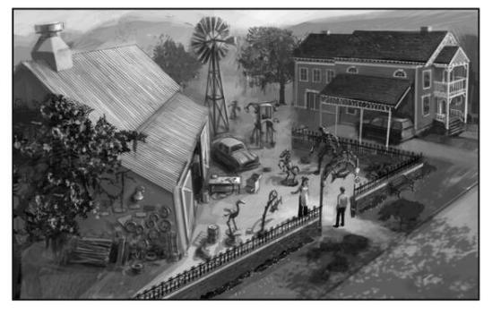 De Sims 3 Ambities Concept Art