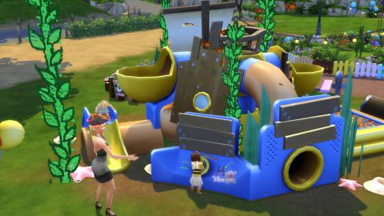 De Sims 4 Peuter Accessoires: Piratenbootwrak