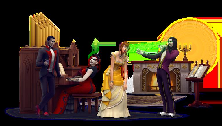 The Sims 4: Vampires Çıkıyor!