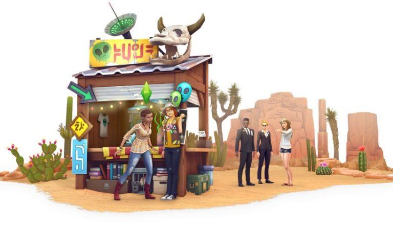 The Sims 4: StrangerVille Çıkıyor!