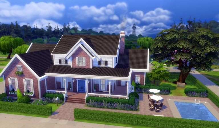 The Sims 4 Ev Yapımı Videosu