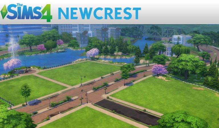 Yeni Sims 4 Kasabası: Newcrest!