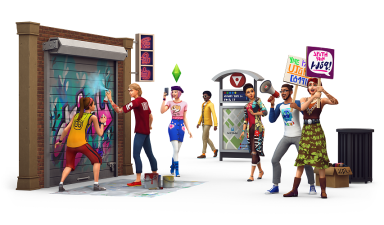The Sims 4 City Living ile Karaoke Heyecanı