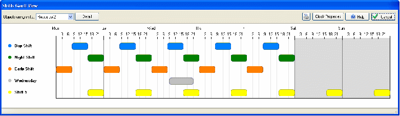Fridays Tip Visualize Your Shift Patterns In A Gantt Chart