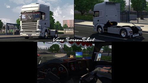 Scania-164L-+-İnterior