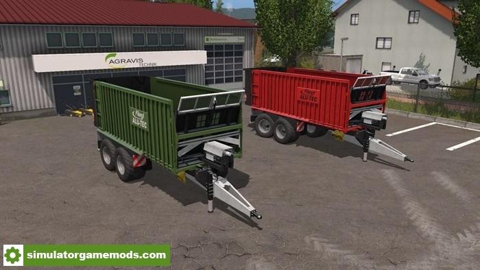 FS17 - Fliegl ASW 271 Trailer V1.4 - Simulator Games Mods