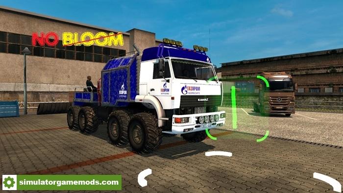 ETS2 - No Bloom - Promods Enabled V4.1b (1.30.X) - Simulator Games Mods