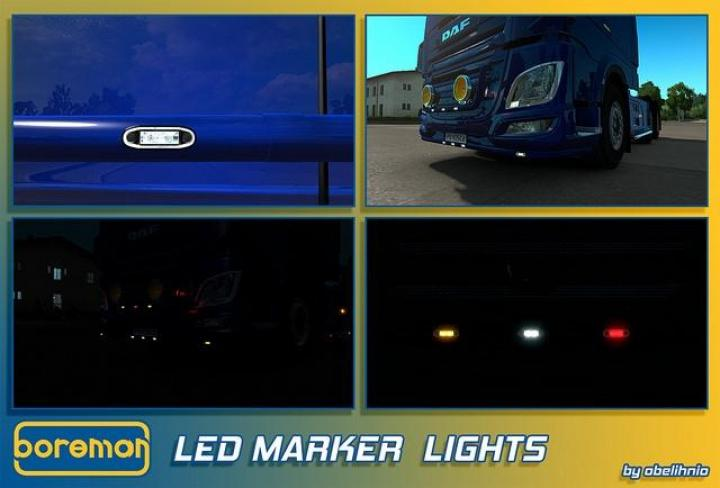 how to install marker lights on trucks