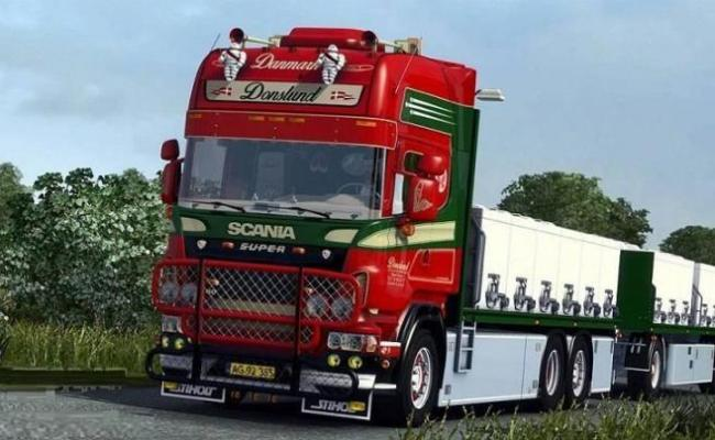 Ets2 Scania Donslund V1 1 33 X Simulator Games Mods