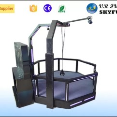 Flight Simulator Chair 360 Office Very Crazy Shooting Htc Vive Degree Vision Game For One Player