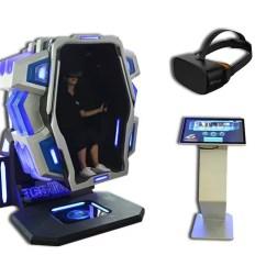 Flight Simulator Chair 360 Hair Styling Chairs Single Player Degree Vr Pod 9d