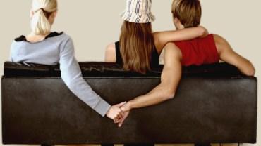 una coppia e l'amante