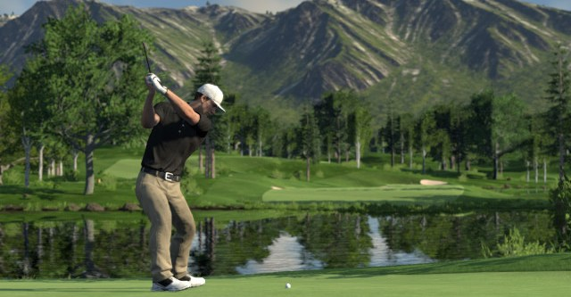 Screenshot del miglior gioco di golf