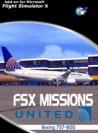 Perfect Flight - FSX Missions United B737-800