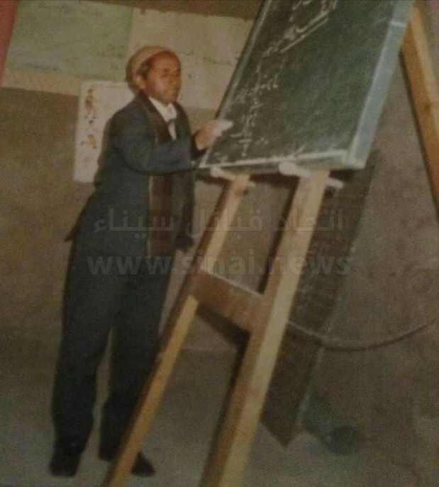 أبناء سيناء: الاستاذ على زايد سليمان جهينى