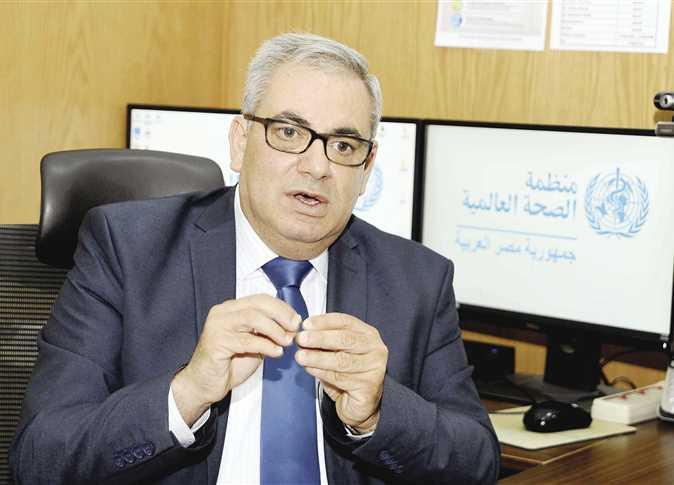 """ممثل الصحة العالمية في مصر """" الأطقم الطبية يبذلون كل جهدهم تحت قيادة حكيمة لوزيرة الصحة"""""""