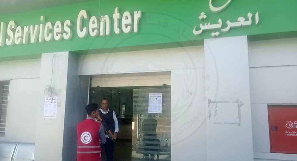 محافظ شمال سيناء عمليات صرف المعاشات1 - وكالة سيناء نيوز