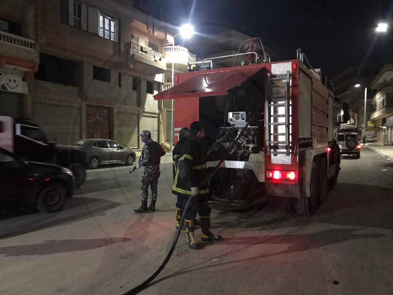 """بالصور .. محافظ شمال سيناء يطلق أعمال تعقيم مدينة العريش ضد """"كورونا"""""""