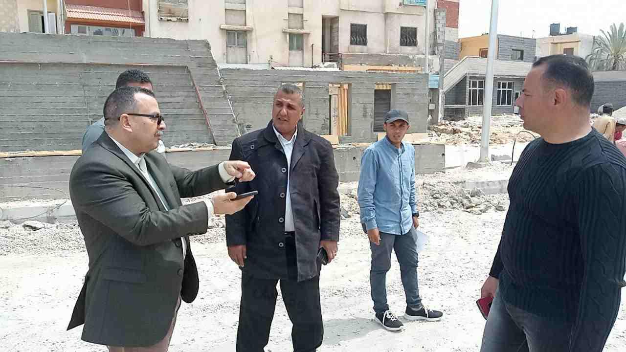 نائب محافظ شمال سيناء يتفقد المشروعات التنموية بمدينة العريش 2 - وكالة سيناء نيوز