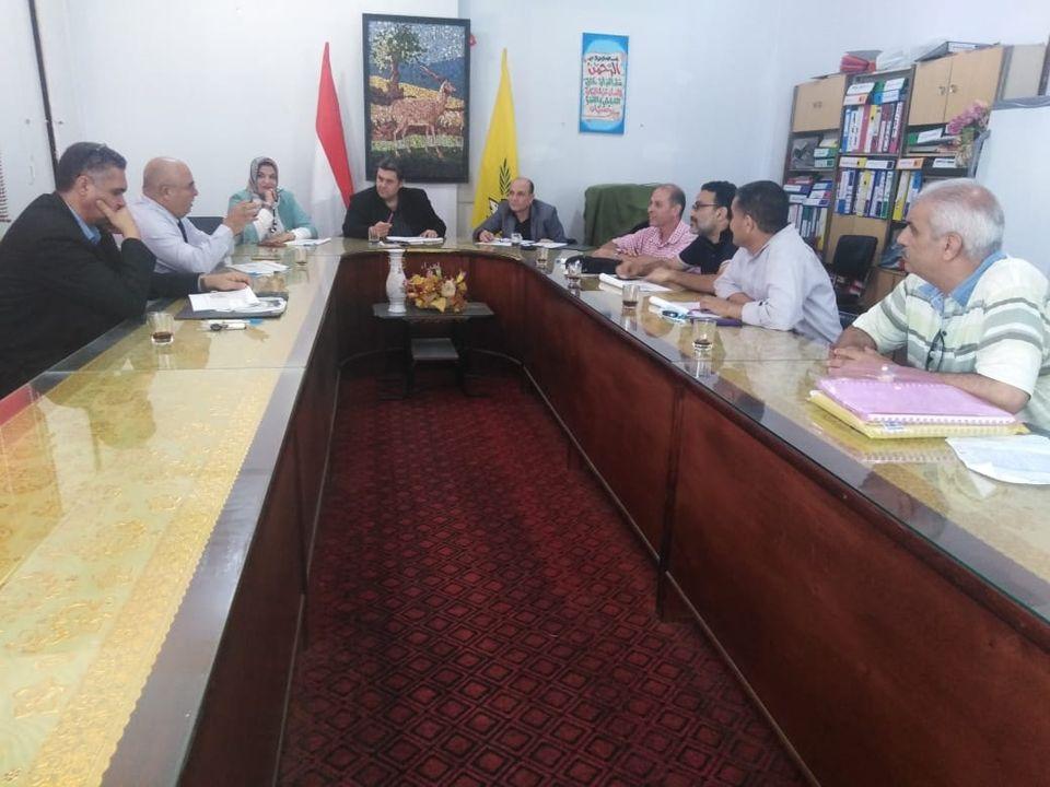 وكيل مديرية التربية والتعليم يراس لجنة تقييم الوظائف الإشرافية .