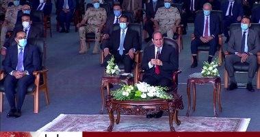 الرئيس السيسى: تضحيات شهداء الوطن ثمن تم تسديده لمكافحة الإرهاب