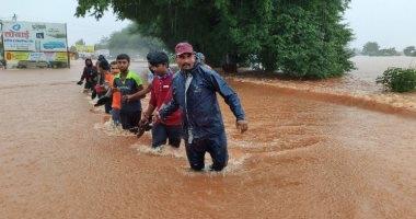 ارتفاع حصيلة ضحايا الفيضانات والانهيارات الأرضية فى الهند لـ 160 قتيلا