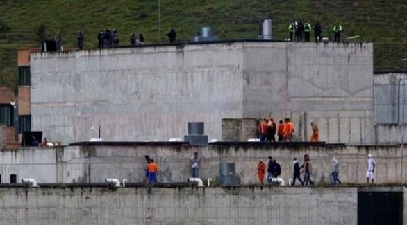 ارتفاع حصيلة القتلى في أعمال شغب في سجنين بالإكوادور إلى 27