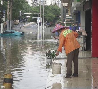 ارتفاع حصيلة ضحايا الفيضانات في الصين إلى 69 شخصا