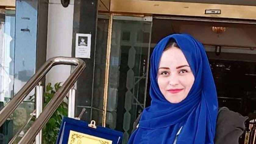 معلمة رياض أطفال بوسط سيناء تفوز بلقب «القدوة» على مستوى الجمهورية