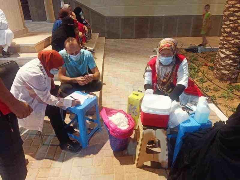 اقبال المواطنين على حملة الكشف عن الاعتلال الكلوي9 - وكالة سيناء نيوز