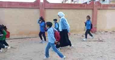 انتظام الدراسة بـ 30 مدرسة فى شمال سيناء