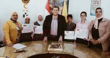 تكريم طلبة ومعلمين متميزين فى حفظ القرآن الكريم وأنشطة تعليمية بشمال سيناء