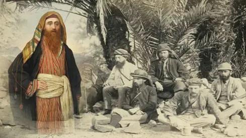 مقتل الجاسوس بالمر على يد حسن بن مرشد الترباني ورفاقه في سيناء