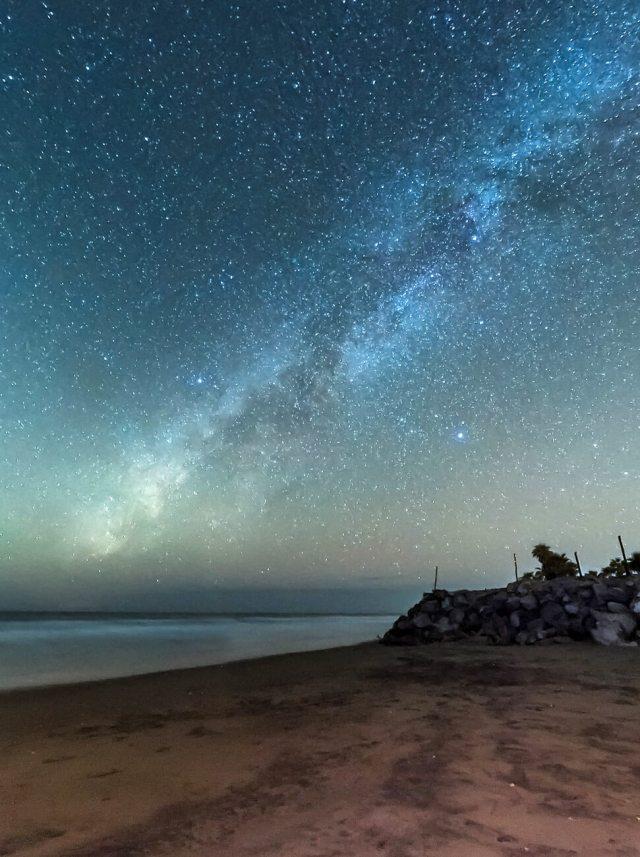 Vía Láctea en Isla Cortes
