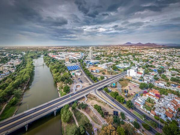 Desarrollo Urbano Tres Ríos a la orilla Del Río Tamazula