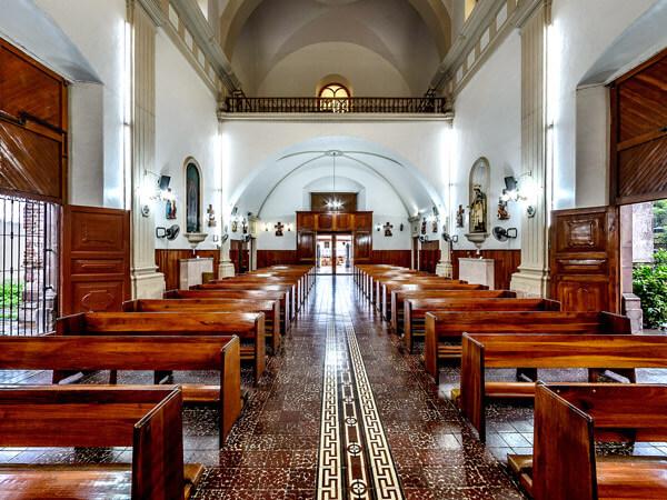 Interior de El Santuario