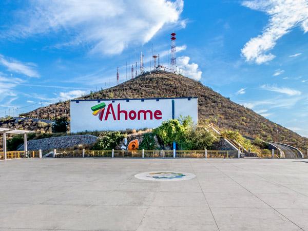 La Pérgola en el Cerro de la Memoria en Los Mochis, Sinaloa
