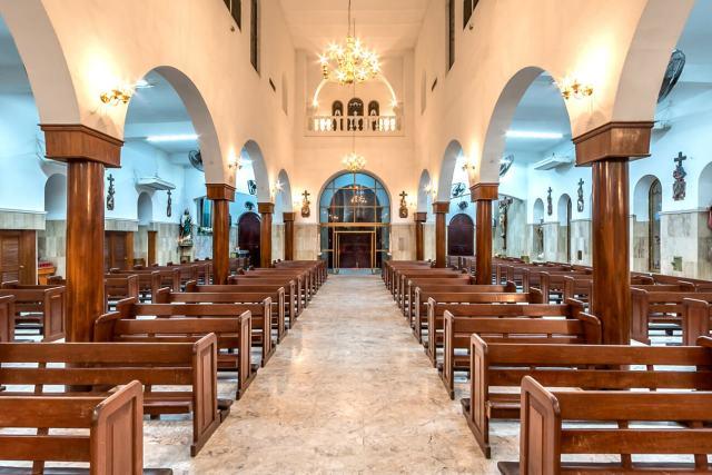 Parroquia del Sagrado Corazón de Jesús en Los Mochis