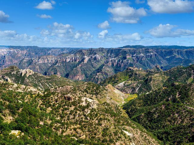 Barrancas del Cobre en la Sierra Tarahumara
