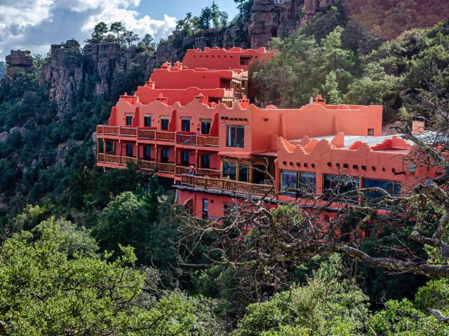Hotel Mirador en las Barrancas del Cobre