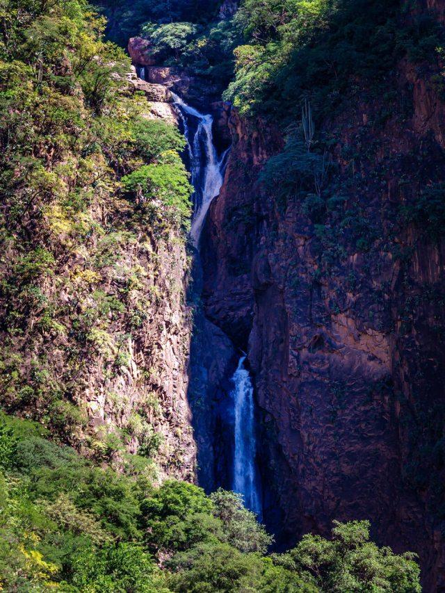 Cascada en la Sierra Tarahumara