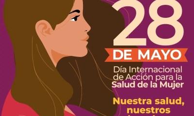 28mayo, mujer, díainternacionalmujer, salud mujer