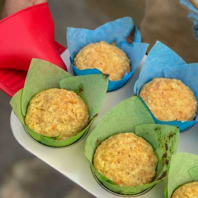 Easy And Delicious Carrot Muffins