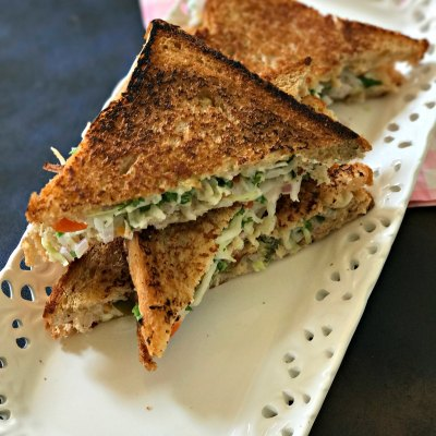 Hung Curd Sandwich  – Healthy, Easy & Delicious