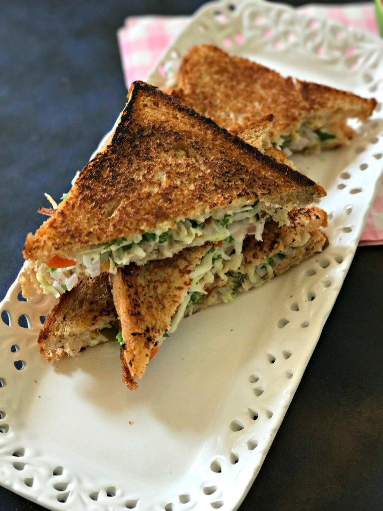Hung Curd Sandwich