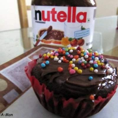 Vanishing Cupcakes – Nutella Apple Cupcakes