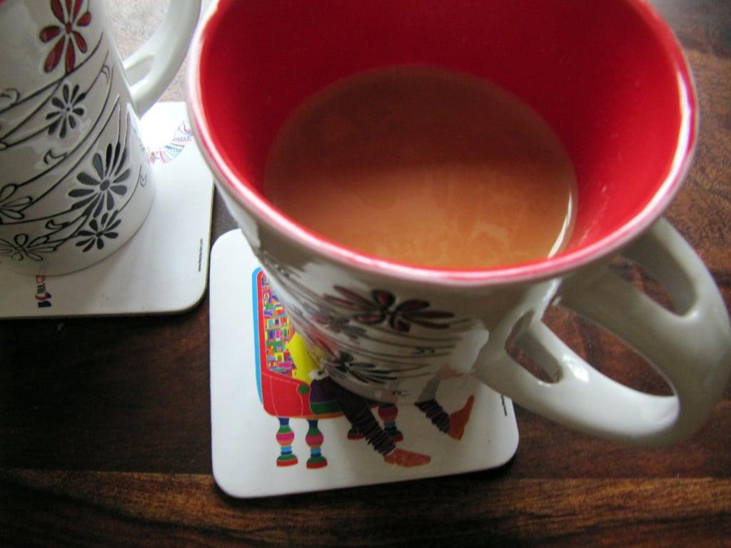 microwave tea